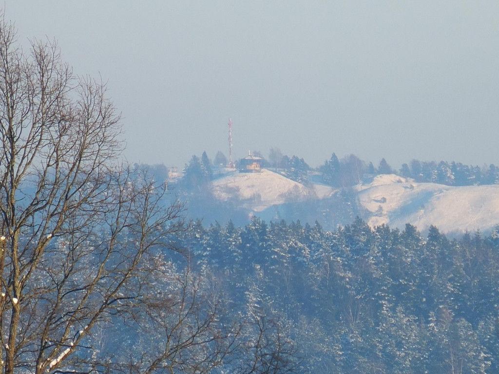 Widok z Czarnej Góry ( kawiarnia na Pięknej Górze k