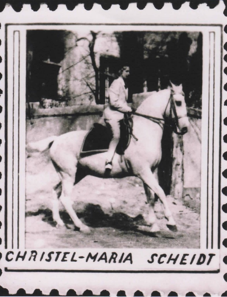 Ostatnia właścicielka Dworu Christel-Maria Scheidt