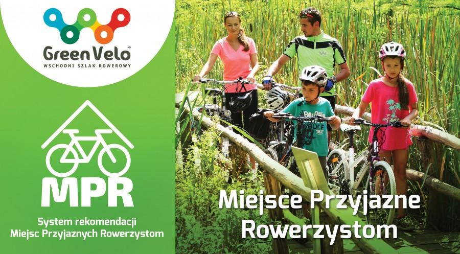 MPR - Miejsce Przyjazne Rowerzystom - GreenVelo - Dwórklewiny