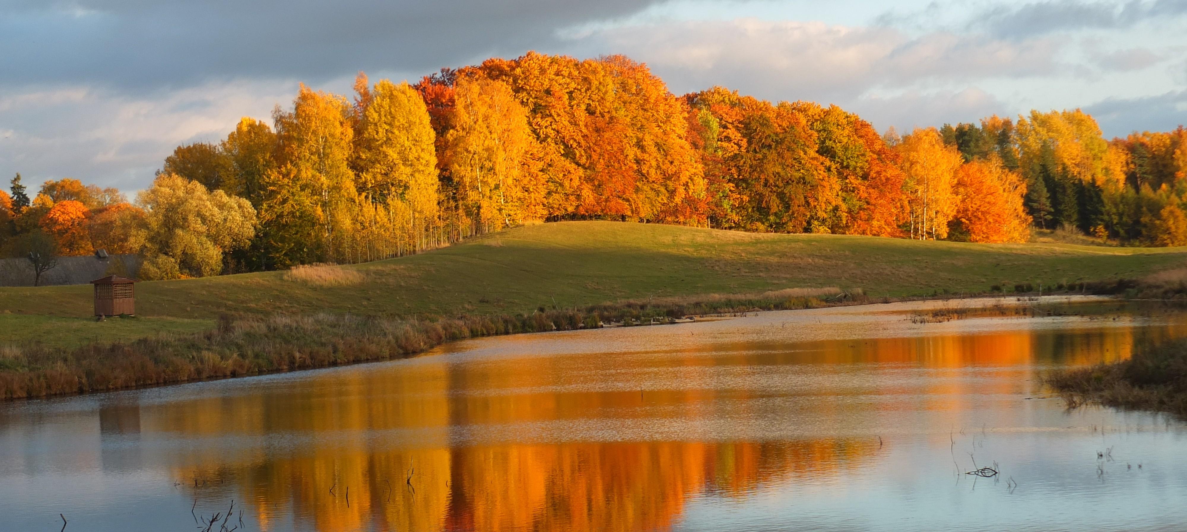 Góry klewińskie jesienią